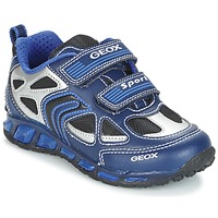 Sko Dreng Lave sneakers Geox J SHUTTLE B. A Marineblå / Blå