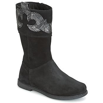 Sko Pige Chikke støvler Geox J SHAWNTEL G. C Sort