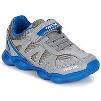 Sko Dreng Lave sneakers Geox J MUNFREY B. A Grå / Blå