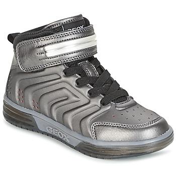Sko Dreng Høje sneakers Geox J ARGONAT B. B Sort