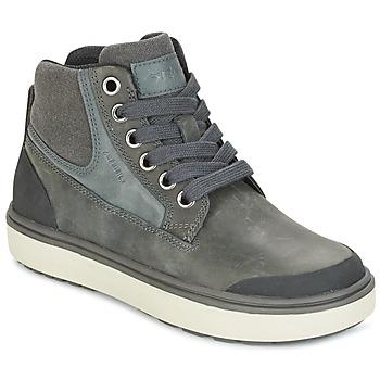 Sko Dreng Høje sneakers Geox J MATT.B ABX C Grå