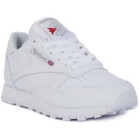 Sko Herre Lave sneakers Reebok Sport CLASSIC LTHR Bianco