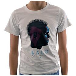 textil Børn T-shirts m. korte ærmer Puma  Hvid