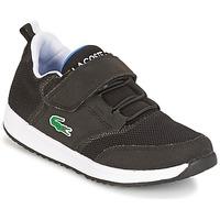 Sko Børn Lave sneakers Lacoste L.IGHT Sort / Grå