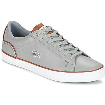Sko Herre Lave sneakers Lacoste LEROND 3 Grå / Brun