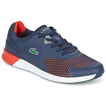 Sko Herre Lave sneakers Lacoste LTR.01 Marineblå / Rød