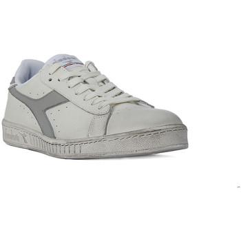 Sko Dame Lave sneakers Diadora GAME LOW WAXED Grigio