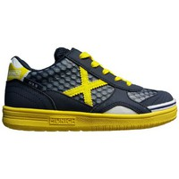 Sko Børn Lave sneakers Munich Fashion G3.5 KID-FEEL NEGRO/AMARILLO