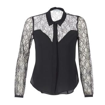 textil Dame Skjorter / Skjortebluser Morgan RESTY Sort