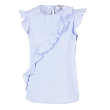 textil Dame Toppe / Bluser Morgan MARFIZ Blå / Hvid