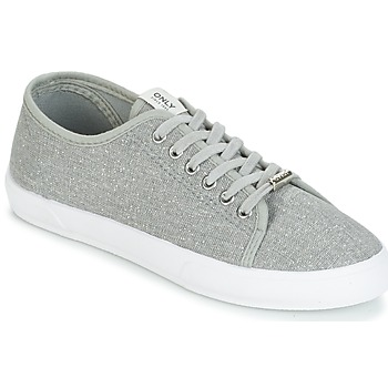 Sko Dame Lave sneakers Only SAPHIR GLITTER Grå