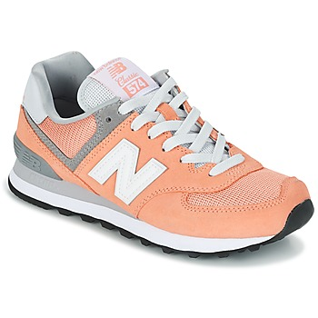 Sko Dame Lave sneakers New Balance WL574 Fersken