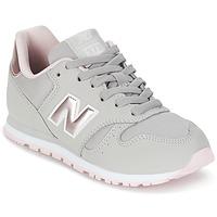 Sko Pige Lave sneakers New Balance KJ374 Grå / Pink