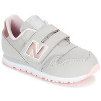 Sko Pige Lave sneakers New Balance KV373 Grå / Pink