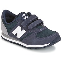 Sko Børn Lave sneakers New Balance KE421 Marineblå / Grå