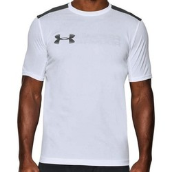textil Herre T-shirts & Polo-t-shirts Under Armour UA Raid Mocrothread Graphic SS Tee 1286059-100 Grey,White
