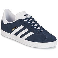 Sko Børn Lave sneakers adidas Originals GAZELLE J Marineblå