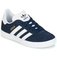 Sko Børn Lave sneakers adidas Originals Gazelle C Marineblå