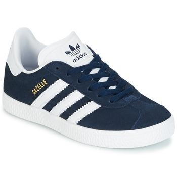 save off 83261 44d5f Sko Dreng Lave sneakers adidas Originals Gazelle C Marineblå