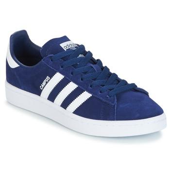 Sko Dreng Lave sneakers adidas Originals CAMPUS J Marineblå