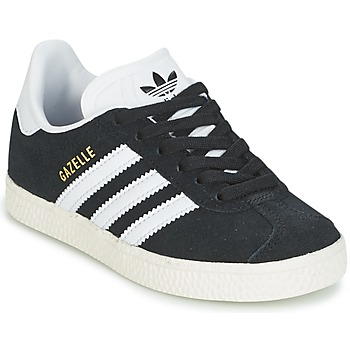 Sko Dreng Lave sneakers adidas Originals GAZELLE C Sort