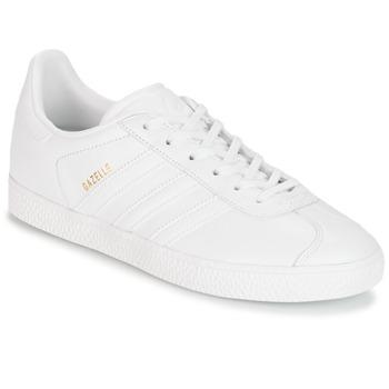 Sko Børn Lave sneakers adidas Originals GAZELLE J Hvid