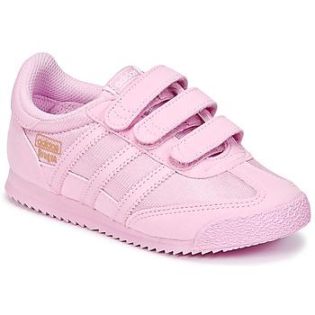 Sko Pige Lave sneakers adidas Originals DRAGON OG CF I Pink