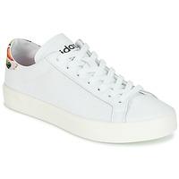 Sko Dame Lave sneakers adidas Originals Court Vantage Hvid / BLOMSTRET