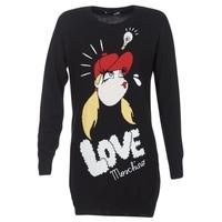 textil Dame Korte kjoler Love Moschino WS45S01X0608 Sort