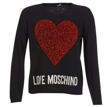 textil Dame Pullovere Love Moschino WS89G01X0683 Sort