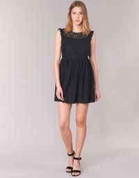 textil Dame Korte kjoler Betty London GLATOS Sort