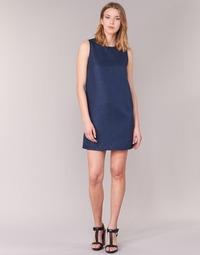 textil Dame Korte kjoler Casual Attitude GADINE Marineblå