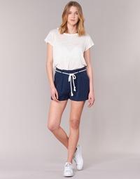 textil Dame Shorts Casual Attitude IGRETTE Marineblå