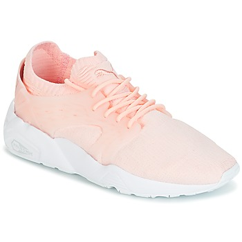 Sko Dame Lave sneakers Puma Blaze Cage Knit Wn's Pink