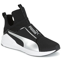 Sko Dame Høje sneakers Puma FIERCE core Sort