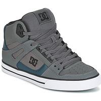 Sko Herre Høje sneakers DC Shoes SPARTAN HIGH WC Grå / Grøn