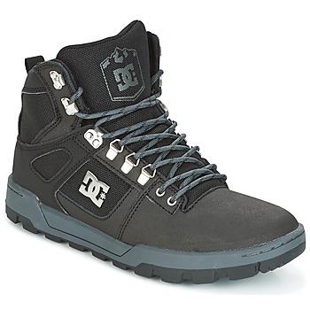 Sko Herre Høje sneakers DC Shoes SPARTAN HIGH WR Sort / Grå