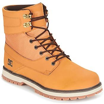 Sko Herre Støvler DC Shoes UNCAS M BOOT TBK BEIGE / Sort / Brun