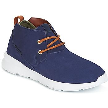 Sko Herre Støvler DC Shoes ASHLAR M SHOE NC2 Marineblå / Kamel