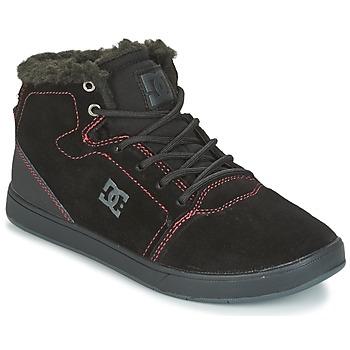 Sko Børn Høje sneakers DC Shoes CRISIS HIGH WNT Sort / Rød / Hvid