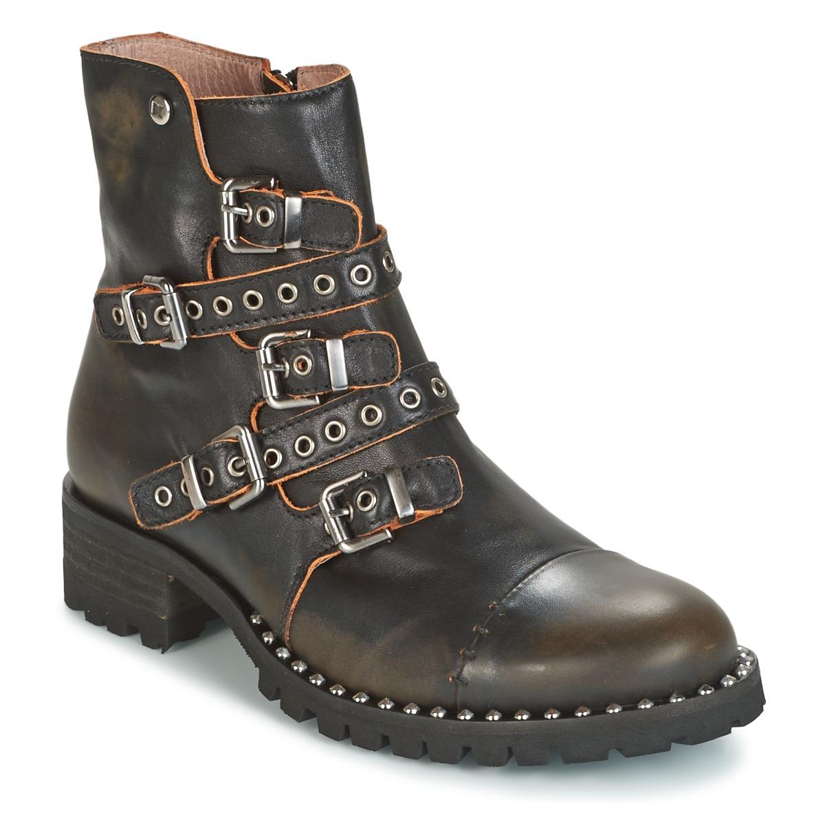 Støvler Dkode  UMBRIA-BLACK-001