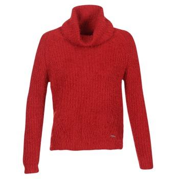 textil Dame Pullovere Billabong SHAGGY ESCAPE Rød