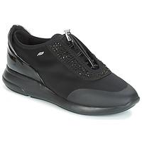 Sko Dame Lave sneakers Geox D OPHIRA Sort