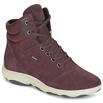 Sko Dame Høje sneakers Geox D NEBULA 4 X 4 B ABX Bordeaux
