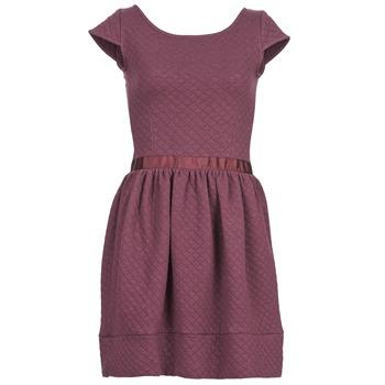 textil Dame Korte kjoler Naf Naf OHORTENSE Violet