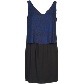 textil Dame Korte kjoler Naf Naf LORRICE Sort / Blå
