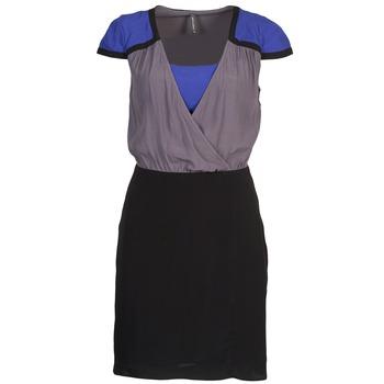 textil Dame Korte kjoler Naf Naf LYFAN Sort / Grå / Blå