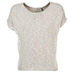 textil Dame T-shirts m. korte ærmer Naf Naf MILLON Grå