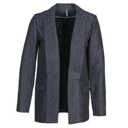 textil Dame Jakker / Blazere Naf Naf ELYO Marineblå