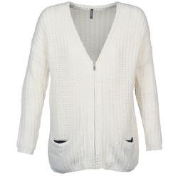 textil Dame Veste / Cardigans Naf Naf MEDEN Beige